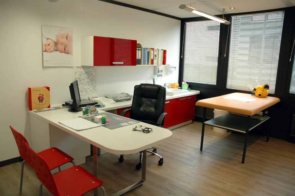 Einer unserer modern eingerichteten Behandlungsräume